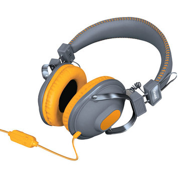 Isound Dghm-5521 Hm260 Dynamic Stereo Headphones With Microphone [black]
