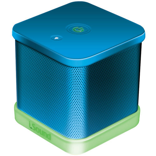 Petra Industries IGLOWSOUND CUBE WIRED PORTABLE SPEAKER (
