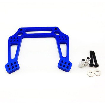 Atomik Rc Alloy Front Shock Tower for Traxxas Stampede 2WD, 1:10, Blue