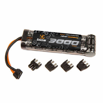 Bias 8.4V 3000mAh Flat Pack NiMH Battery with Uni Plug