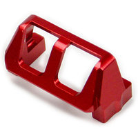 Atomik Rc Alloy Servo Saver for Traxxas Grave Digger 1:16 - Red