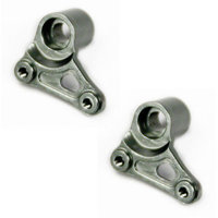 Atomik Rc Alloy Rear Rocker Arm Set for Traxxas Slash 4X4, 1:16, Grey
