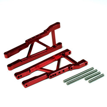 Atomik Rc Alloy Front Lower Arm for Traxxas Slash 4X4 1:10 - Red