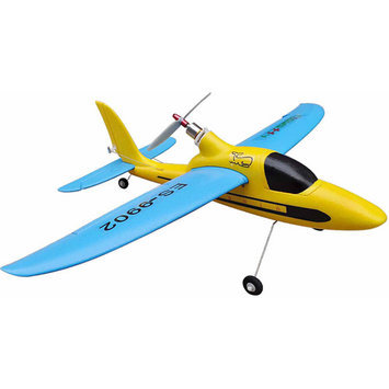 Easysky Dolphin Glider 555mm 4-Channel PNP EPO RC Airplane, Yellow/Blue