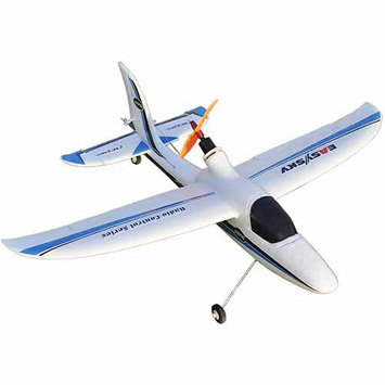Easysky Dolphin Glider 555mm 4-Channel PNP EPO RC Airplane, White/Blue
