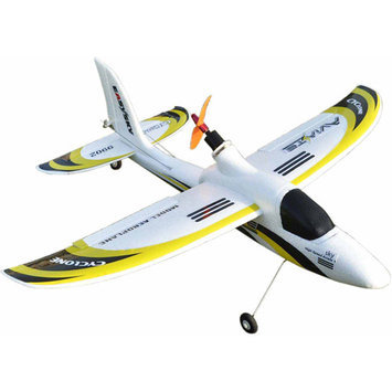 Easysky Dolphin Glider 555mm 4-Channel PNP EPO RC Airplane, White/Yellow