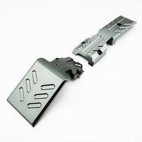 Atomik Rc Atomik Alloy Front Skid Plate 1:10 Traxxas E-Revo - Grey
