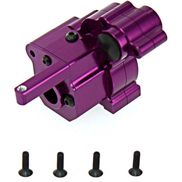 Gpm Racing GPM Alloy Transmission Case for 1:10 Axial Wraith, Purple