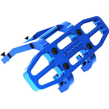 Gpm Racing GPM Alloy Rear Bumper for 1:5 HPI 5B + Other HPI Models - Blue