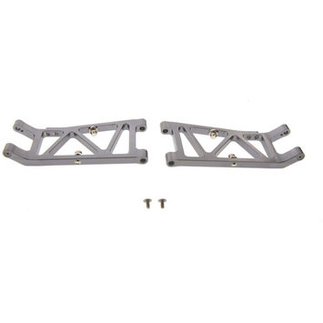 Alloy Rear Arm Set - Grey for 1:10 Team Associated B44.2 by GPM Racing