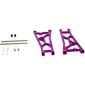Gpm Racing GPM Front Arm Set - Purple for 1:10 Associated Prolite 4X4
