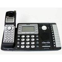 RCA25252 - RCA ViSYS Cordless Phone - DECT - Black; Silver