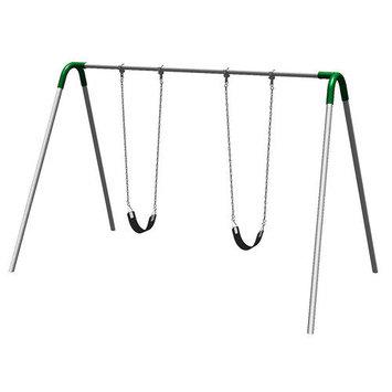 Ultra Play 8 ft. Single Bay Swing Set