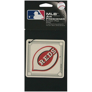 Kole Imports MLB Reds Baseball Diamond Pine Car Air Freshener