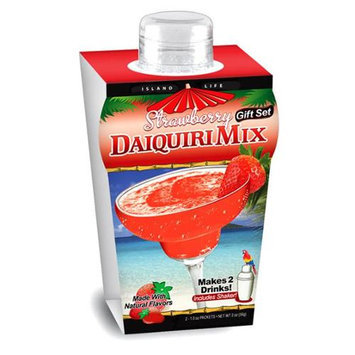 Island Life 2104002 Mini Tropical Strawberry Daiquiri Gift Set - 6 Packs