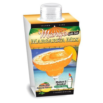 Island Life 2104006 Mini Tropical Mango Margarita Gift Set - 6 Packs