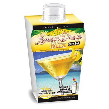 Island Life 2104008 Mini Tropical Lemon Drop Gift Set - 6 Packs