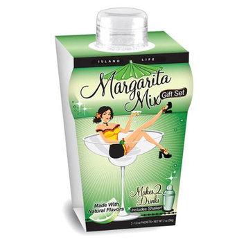 Island Life 2104009 Mini Island Girl Margarita Gift Set - 6 Packs