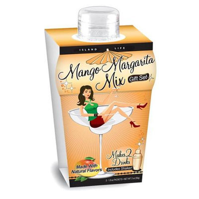 Island Life 2104011 Mini Island Girl Mango Margarita Gift Set - 6 Packs