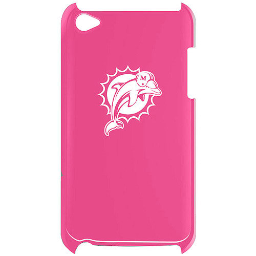 Varsity Jacket FVA5468 Pink Solo-iPod Touch 4th Gen-Miami Dolphins-Pink