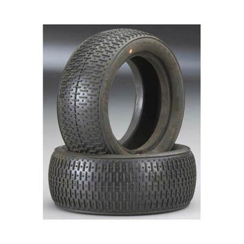 3016-04 Bar Codes 2.2 1/10 Buggy Tire Rear Orng (2) JCOC3161 J CONCEPTS