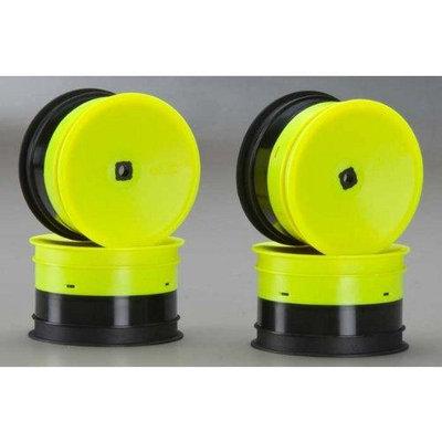 Inverse 12mm Hex Rear Wheel, Yellow: B4.1 JCOC3385 J CONCEPTS