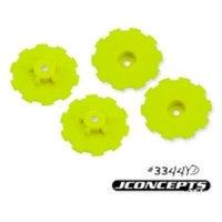Hazard Wheel Dish, Yellow (4):SC10 JCOC3722 J CONCEPTS