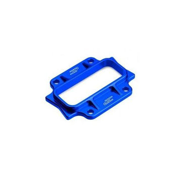 Aluminum Bulkhead Cap, Blue: B44.2 JCOC2242 JCONCEPTS INC