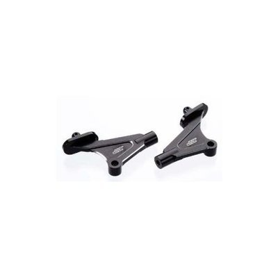 Jconcepts 2261-2 Aluminum Wing Mounts KYO RB6/RT6 Black JCOC2263 J Concepts