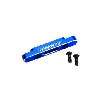 Alum Front Suspension Brace, Blue: B4, T4, SC10 JCOC2280 JCONCEPTS INC