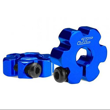 Ultra Front Wheel Hex, Aluminum, Blue: RC10B5, B5M JCOC2330 J Concepts
