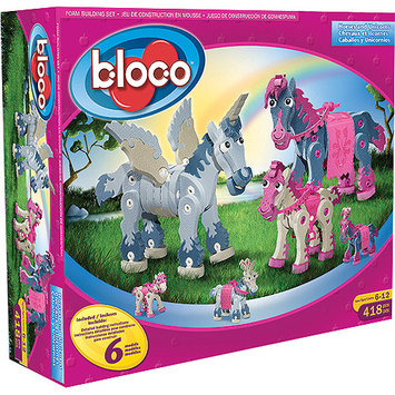 Bloco Toys Horses and Unicorns (418 pcs)