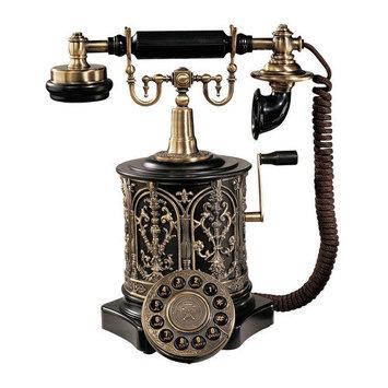 Design Toscano PM1893 The Swedish Royal Family Replica Telephone: PM1