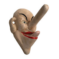 Design Toscano Liar, Liar Big Nose Hook (Set of 2)