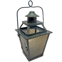 Vita V Home Small Black Coach Lantern