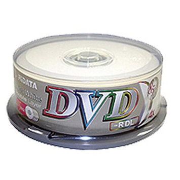 Ridata DVD-R Dual Layer, 8.5GB, 4x, 25 Pk