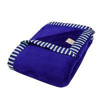 Test Trend Lab Blue Framed Snuggle Monster Receiving Blanket Kid's