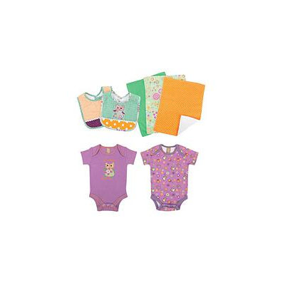 Trend Lab 7-pc. Jelly Bean Owl Gift Set