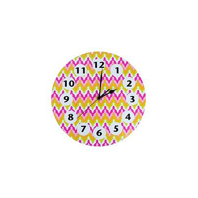 Trend Lab Savannah Wall Clock Pink/Orange