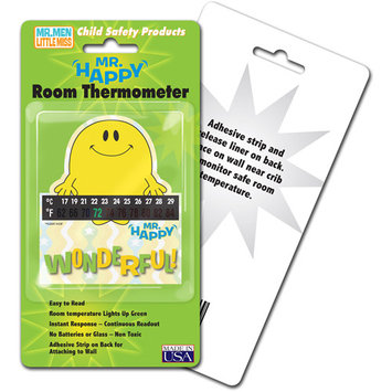 Lcr Hallcrest Hallcrest Mr. Happy Room Thermometer - 4 Pack