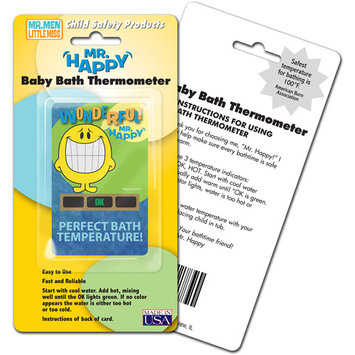 Lcr Hallcrest Hallcrest Mr. Happy Bath Thermometer - 4 Pack