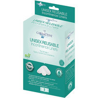 Care Apparel, Inc. CareActive Unisex Reusable Incontinence Liners (Pack of 6)