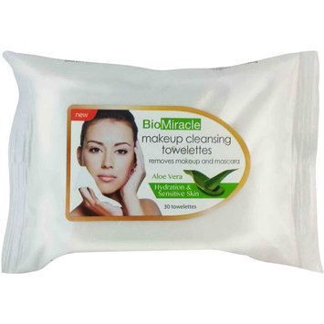 BioMiracle Towelettes Aloe Vera 180 count