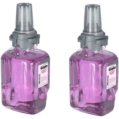 GOJO Antibacterial Plum Foam Handwash (ADX 700 mL Refill) -2pk