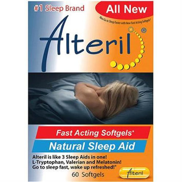 Alteril Natural Sleep Aid Softgels, 30 Count
