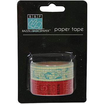 Bazzill 304135 Wayfarer Paper Tape 2 Rolls-Pkg