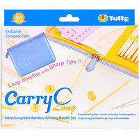 Tulip Company Carry C Interchangeable Bamboo Circular Needle Long Set