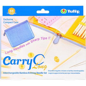 Tulip Company Carry C Interchangeable Bamboo Circular Needle Long Set