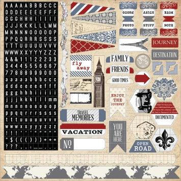 Teresa Collins Far & Away Stickers