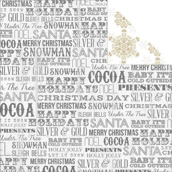 Teresa Collins Tinsel & Company Double-Sided Cardstock 12